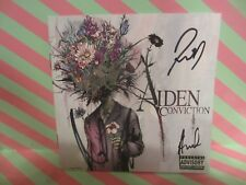 Aiden Conviction Cd Booklet Signed