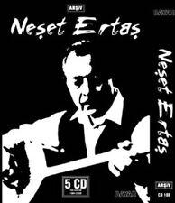 "NESET ERTAS  "" Arşiv 5 CD BOX SET ""  TURK HALK MUZIGI CD"