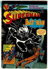 SUPERMAN und BAT MAN - Verloren im Zeitsturm! - Heft 3 vom 04.02.1981