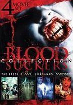BLOODSUCKERS COLLECTION: 4-MOVIE SET - DVD - Sealed Region 1