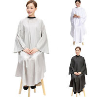 New Salon Cape Pro Hair Cutting Waterproof Gown Hairdresser Apron With Sleeve
