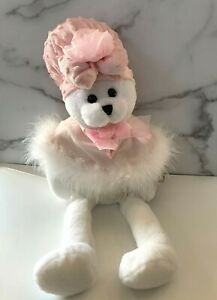 Chantilly Lane Breast Cancer Teddy Bear Sings I Hope You Dance Song Musical 2000