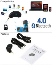 3.5mm AUX Car Bluetooth 4.0 Receiver Speaker Music Streaming Audio Adapter Mic