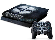 Cool Skull Custom Skins for Playstation 4 PS4 Console + 2 Controller Stickers