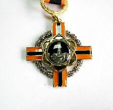 Ukraine Badge Award Cross Union Chernobyl of Ukraine Soviet Nuclear Tragedy