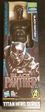 "BLACK PANTHER 12"" Action Figure Titan Hero Series Marvel Hasbro New Free Ship"