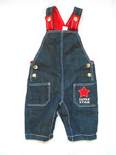 Next No Pattern Dungarees Boys' Trousers & Shorts (0-24 Months)