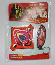 Land of the Giants Patch & Keychain Set / Irwin Allen Key fob Chain Spindrift