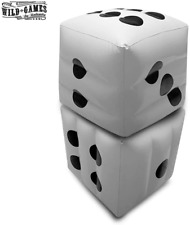 Big Giant Jumbo Inflatable Dice Set for Dice Games, Family Games, Casino Games