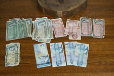 Lot of Bank of Canada 54 Face - $1 $2 $5 Dollar Note Currency Bills