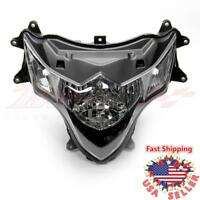 Front Clear Head Lamp Headlight Assembly Housing For SUZUKI GSX-R1000 2009-2016