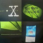 RARE VINTAGE 1994 X FILES THE TRUTH IS OUT THERE TRUE VINTAGE BLACK SHIRT LARGE
