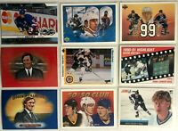 Wayne Gretzky 9 Card Lot O-Pee-Chee Goodwin Champions Oilers Legend