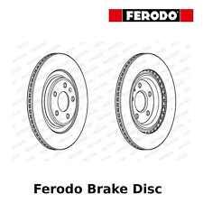 Ferodo Rear Brake Disc (Pair) - 330mm, Vented, Coated - DDF2383C - OE Quality