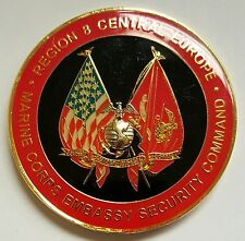 USMC MSG-Det Battalion Marine Corps Embassy Security Command Region 8 Ctr Europe