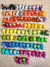 GoGo's Crazy Bones Bundle Lot of Gogos 100 Different Plastic Toy Figures ref115