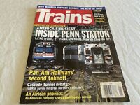 Trains Magazine 2010-8 issues (See Photos) (Lot 212M)