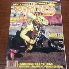 MOTOCROSS ACTION JULY 1978 GP RACE 100cc SHOOTOUT BOB HANNAH MARTY TRIPE VINTAGE