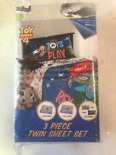 Disney Toy Story 4 Colorful Kids Sheet Set TWIN SIZE