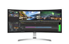"LG Monitor 34UC99-W LED-Display 86,4 cm (34"") Curved Design weiß/silber"