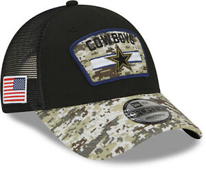 Dallas Cowboys New Era 9Forty NFL 2021 Salute To Service Team Cap
