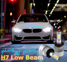 BMW F30 F31 3-Series Canbus LED Headlight 2x Bulbs H7 Low Beam 72W 6500K White