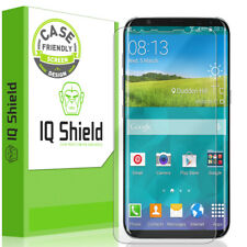 IQShield Ultra Clear Case Friendly Screen Protector Cover for Samsung Galaxy S8