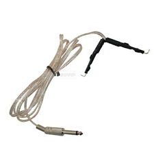 6Ft 1.8m Tattoo Power Supply Stainless Clear Clip Cord Plug for Tattoo Machines