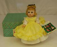 "1966 Madame Alexander Kins LITTLE WOMEN AMY #781 BENT KNEE 8"" Wendy Doll MIB"