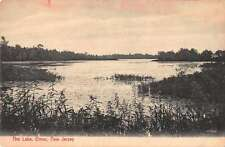 Elmer New Jersey The Lake Scenic View Antique Postcard J58714