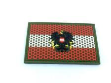 Austria Austrian Mesh Crest Flag Airsoft Paintball PVC Morale Team Patch