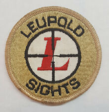 Leupold Patch Cloth Embroidered Vintage Original New