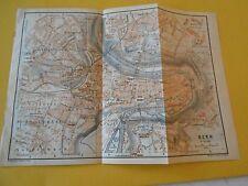 Plan de Bern Suisse Schweiz 1920