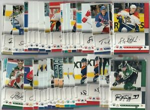 2005-06 BE A PLAYER AUTOGRAPH YOU PICK                                      9000