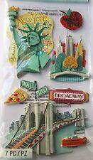 JOLEE'S BOUTIQUE NEW YORK Brooklyn Bridge Scrapbook Craft Sticker Embellishment