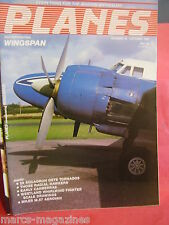 WINGSPAN PLANES MAG # 15 1984 20 SQDN TORNADOES RADIAL HAWKERS CANBERRAS