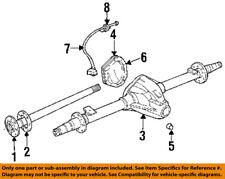 Dodge CHRYSLER OEM 2000 Ram 3500 Rear-Axle Housing 5015672AA