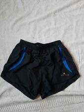 Ronhill men's running short black/electric blue medium