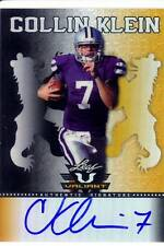collin klein rookie rc draft auto autograph kansas state ksu college 5/5 2013