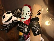 Disney's The Nightmare before Christmas Dog Toy Lot Of 3~ Free Shipping!