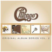 CHICAGO - Original Album Series Vol 2 - 5 CD Boxset