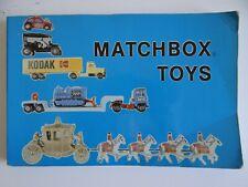 1983 Matchbox Toys Book  - Schiffer Publishing - Diecast Matchbox Car Guide