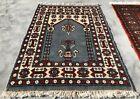 Hand knotted Vintage Pakistan Bokhara Jhaldar Wool Area Rug 3 x 2 Ft (1443 KBN)