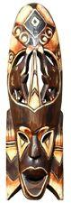 Schöne 50 cm Elefant Holz Maske Afrika Wandmaske Handarbeit Bali Maske85