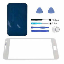 White front outer glass lens screen Galaxy Note N7000 replacement Adhesive Tools