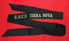 Royal Canadian Navy H.M.C.S. TERRA NOVA CAP TALLY