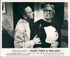 MAKE MINE A MILLION ARTHUR ASKEY ORIGINAL LOBBY CARD UK