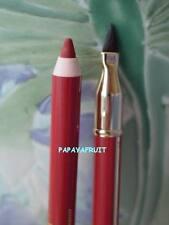 $25 Lancome Le Lipstique LipColouring Stick Liner w/ Brush~EMBERGLOW~ Peachy Red