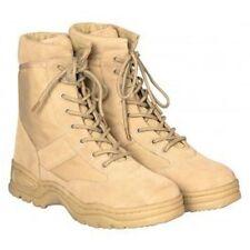 Kampf Stiefel Beige Army Boots Herren Outdoor Trecking Schuhe Safari Gr. 44 neu