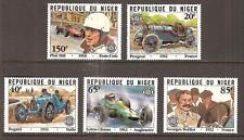 NIGER # 563-7 MNH GRAND PRIX TOUR DE FRANCE AUTO RACING